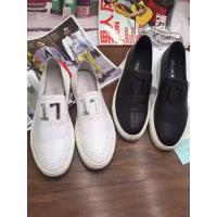 Buy cheap 2016 New Fashionable Replica High Quality GIVENCHY Summer casual shoes leather design internal pigskin black white hot! from wholesalers