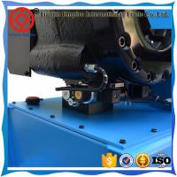 Buy cheap Blue color with different 2 sizes hydraulic hose crimping P32 China manufacturer finn-power hose crimping machine from wholesalers