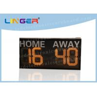 Buy cheap Without Siren LED Football Scoreboard Hanging / Mounting Installation from wholesalers