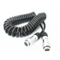 Buy cheap TPU Jacket Retractable Coil Cord For Truck Trailer Power Signal Transmission from wholesalers