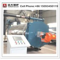 Buy cheap High temperature Gas Oil Fired 700kw 1400 kw thermal oil boiler from wholesalers