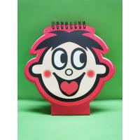 Buy cheap Special - Shaped Custom Spiral Bound Notebook Printing For Promotional Gift from wholesalers