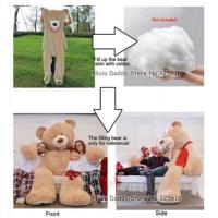 Buy cheap Oversized Soft Plush Skin Unstuffed Build A Bear Skins For Cute Plush Dolls from wholesalers