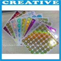 Buy cheap 3D hologram laser sticker custom logo hologpraphic label product