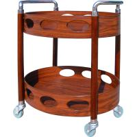 Buy cheap Oval Serving Beverage Cart-Serving Cart from wholesalers