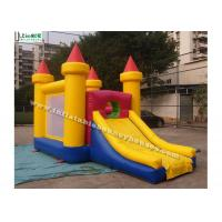 Buy cheap Commercial Grade Inflatable Games Mini Bounce House With Slide For Children from wholesalers