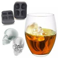 Buy cheap Reasonable Price Dishwasher Safe Soft Famous Food Grade BPA Free 4-ice Silicone Ice Tray Mold Bar Tool Accessories without BPA from wholesalers