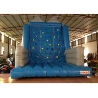 Buy cheap Kindergarten School Inflatable Rock Climbing Wall Double Stitching 5 X 5 X 6m from wholesalers
