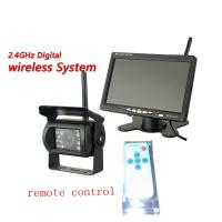 Buy cheap 7 inch Digital Wireless Backup Cameras System  TFT LCD Monitor from wholesalers