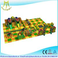 Buy cheap Hansel New style High Quality children indoor playarea Building Blocks playground from wholesalers