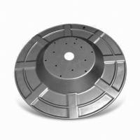 Buy cheap ST12 Sheet metal stamping parts for fire fighting water tube wheels,diameter 1.5 Meters from wholesalers