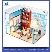 Buy cheap Wooden house model handmade diy cottage M004 from wholesalers