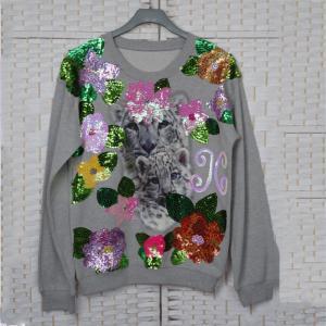 Buy cheap Long Sleeves Customized Polo T Shirts , Womens Crew Neck Sweatshirt product