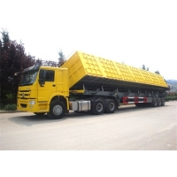 Buy cheap 12r22.5 Tire HYVA Cylinder 40T Truck Dump Trailer from wholesalers