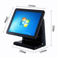 Buy cheap Free Bezel Capacitive Touch Screen Pos System Windows 10 Vtop Black Point Of Sale Devices from wholesalers