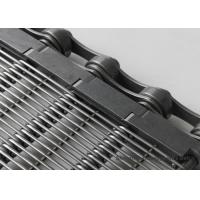 Buy cheap Industrial Perforated Conveyor Belt Oven Flat Heat Treatment With Chain Rod from wholesalers