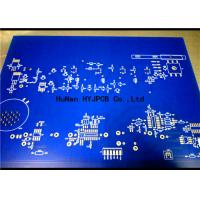 Buy cheap Speacker Display Power Double Sided Pcb Manufacturers Blue Solder Mask product