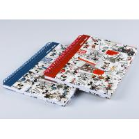 Buy cheap Spiral / Y - O Binding Hardcover Graph Notebook Full Color Printing And Laser Cutting from wholesalers