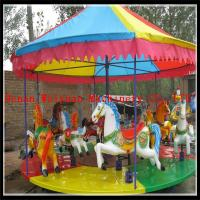 Buy cheap City & Countryside Outdoor Playground Simple Kids Amusement Carousel Horse Ride for Sale from wholesalers