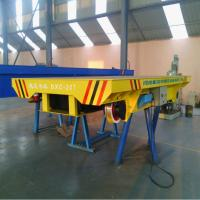 Buy cheap 20ton Steel Wheel Battery Rail Flat Transfer Car with CE&ISO from wholesalers