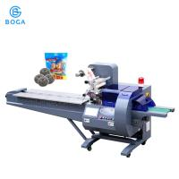 Buy cheap Auto Pillow Packing Machine / Stainless Steel Scrubber Briquette Chopstick Packing Machine from wholesalers