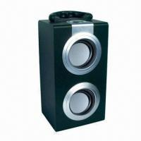 Buy cheap Stereo Mini Speaker with Built-in Rechargeable Battery, Supports USB Flash Drive and SD Card from wholesalers