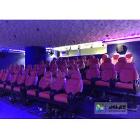 Buy cheap JBL Sound System 6D Movie Theater Black / Red Motion Chairs For Shopping Mall product