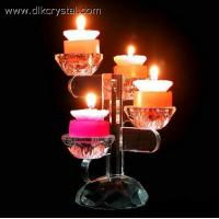 Buy cheap crystal candle holder Glass candle holders ,crystal candle stick votive candle holders craft pulicrystal-323 from wholesalers