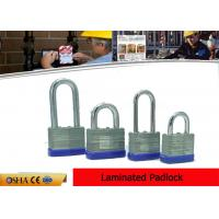 Buy cheap 50mm Width Body  Hardered Steel Laminated Safety Lockout Padlocks from wholesalers