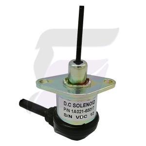 Buy cheap 1A021-60017 12v shut off solenoid For Kubota Engine V2003 V2203 V2403 product