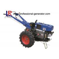 Buy cheap High Capability Farm Machinery 12HP Mini Hand Walking Tractor , Reaper Plough Mower Optional from wholesalers