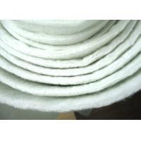 Non Woven Micron Filter Cloth Polyester Filter Media Anti Acid ISO