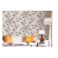Waterproof PVC Vinyl Wallpaper European Flower Design Fashion Style