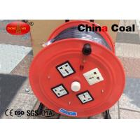 Buy cheap Red Industrial Tools And Hardware Triangular Bracket Cable Reel from wholesalers