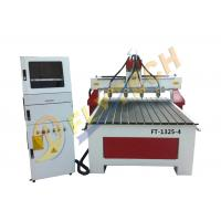 Buy cheap 1325-4 woodworking cnc router 3D engraving machine with four spindles factory price from wholesalers
