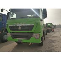 Buy cheap 50 Ton Sinotruk HOWO 12 Wheeler Dump Truck Chassis 6X4 371HP Diesel Engine from wholesalers