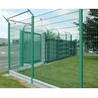 Buy cheap Galvanized Iron Wire Electic galvanized welded wire mesh fence / Factory price fence panels for sale from wholesalers
