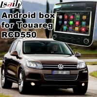 Buy cheap Android 5.1 GPS Navigation Box Video Interface For Touareg RCD550 Offline Navigation Waze Youtube Mirror Link from Wholesalers
