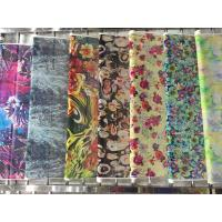 Buy cheap Elegant and Beautiful Printed Silk Satin Wholesale In Stock from wholesalers
