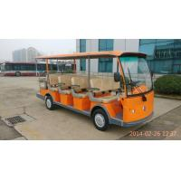 Buy cheap EQ8141 72V 5kw(7.5kw) 14 passenger electric shuttle/tourist bus with gear box from wholesalers