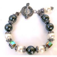 Buy cheap Antique Silver LOVE & KARMA wish wax cord bracelet from wholesalers