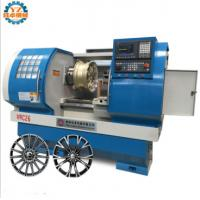 Buy cheap WRC22 Refinishing Rim Hub CNC Lathe Machine With Laser Scanner from wholesalers