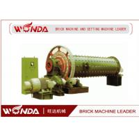 Buy cheap JR139-8 AAC Block Equipment Fly Ash Lime Ball Mill 28 R/ Min Rotating Speed from wholesalers