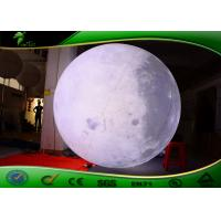 Buy cheap 2016  2m Giant Inflatable LED Moon Balloon , Helium Moon Ball For Event from wholesalers
