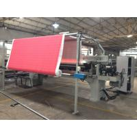 Buy cheap Industrial Fabric Cotton Automatic Rolling Machine 200 W 15 M/Min Roll Speed from wholesalers