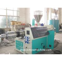Buy cheap Electric PVC Pipe Extrusion Machine With DTC Spiral feeding machine from wholesalers
