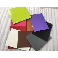 Buy cheap Colorful Aluminum Composite Cladding Materials , Exterior Wall Covering from wholesalers