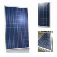 Buy cheap Polycrystalline Home Roof Solar Panels 280 Watt With Low - Iron Tempered Glass from wholesalers