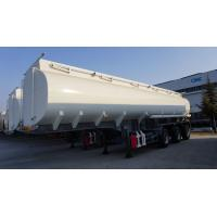 Buy cheap 3 axle Stainless steel palm oil tanker fuel tank trailer for sale from wholesalers
