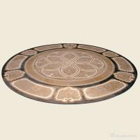 Buy cheap Round Natural Stone Water Jet Marble Floor Medallions For Entryway Decorative from wholesalers